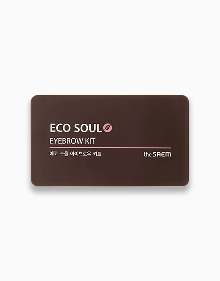 Eco Soul Eyebrow Kit by The Saem   02 Gray Brown