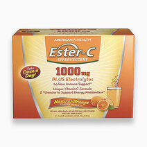 Ester C Effervescent Orange (1000mg), 1 Sachet  by American Health