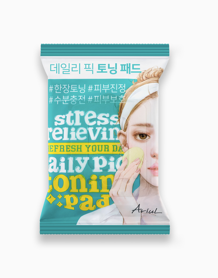 Stress Relieving Daily Pick Toning pad by Ariul