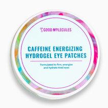 Caffeine energizing hydrogel eye patches