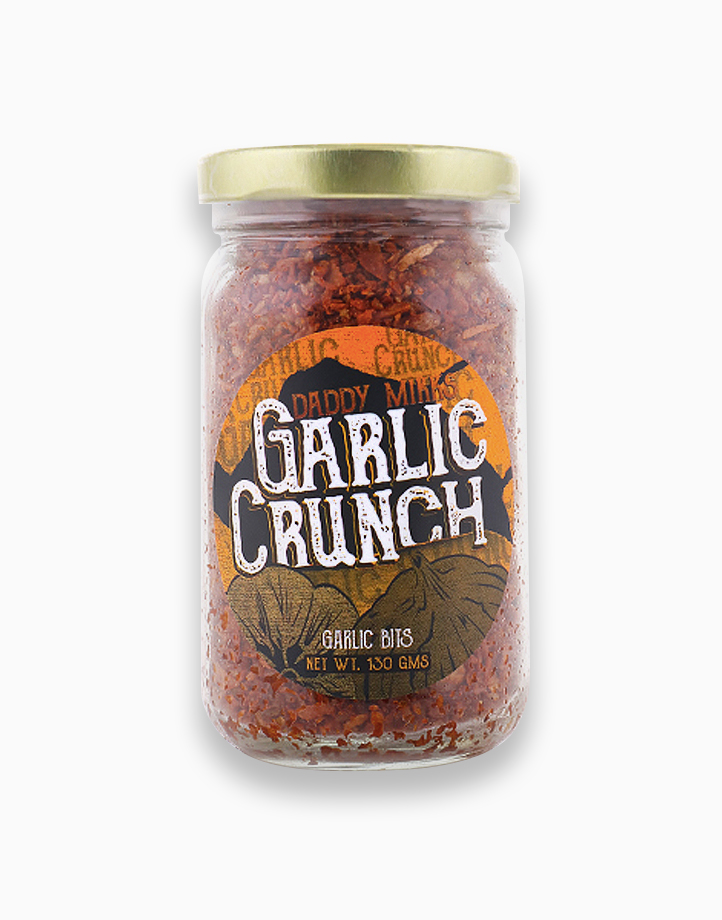 Daddy Mikks Garlic Crunch (130g) by Daddy Mikks Chilli Crunch