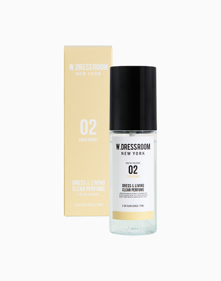 Dress & Living Clear Perfume No. 02 (Coconut) by W.Dressroom