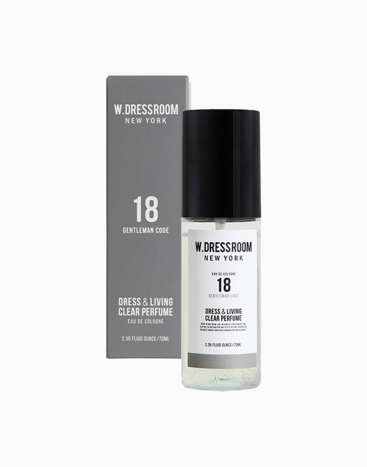 Clear Perfume No. 18 (Gentleman Code) by W.Dressroom