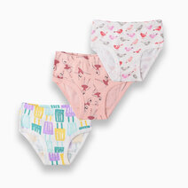 Bell three pack undies for girls 1