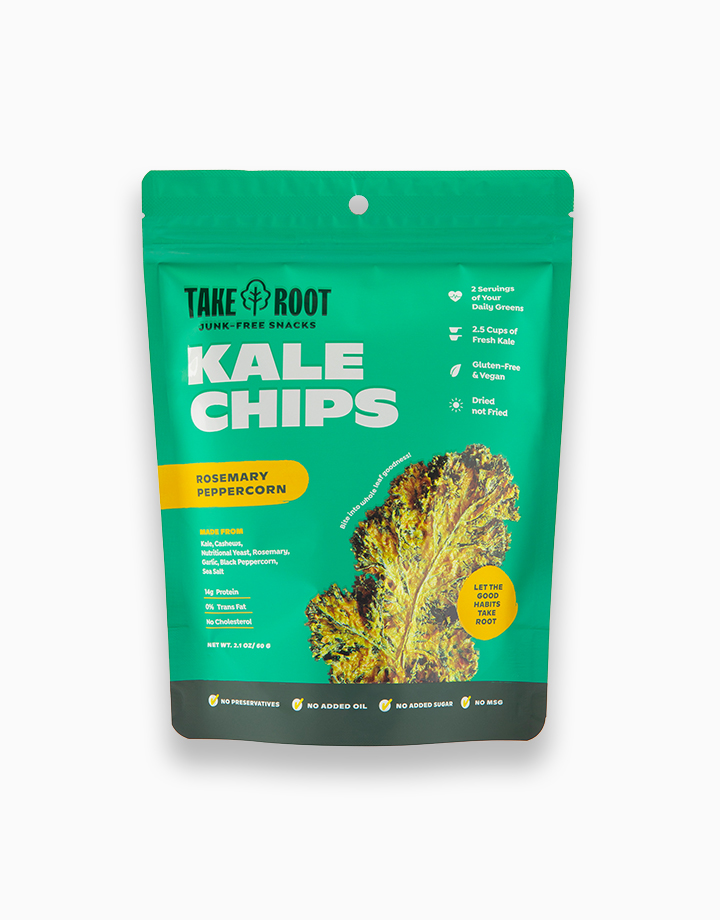 Rosemary Peppercorn Kale Chips by Take Root