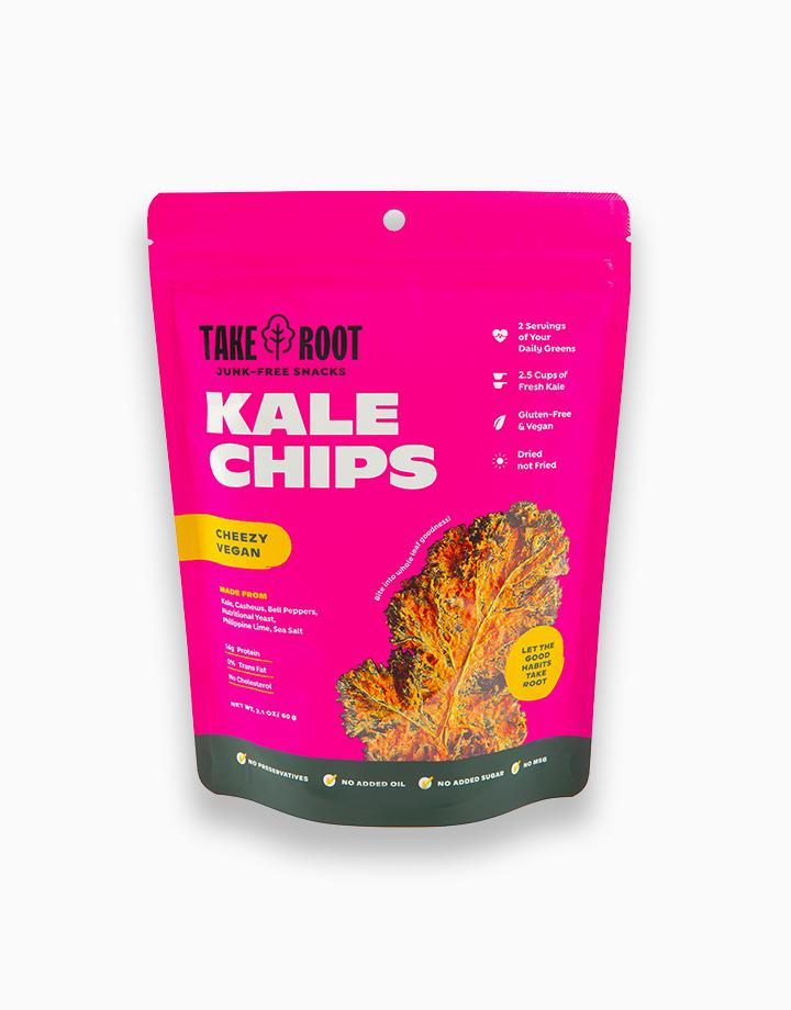 Vegan Cheeze Kale Chips by Take Root