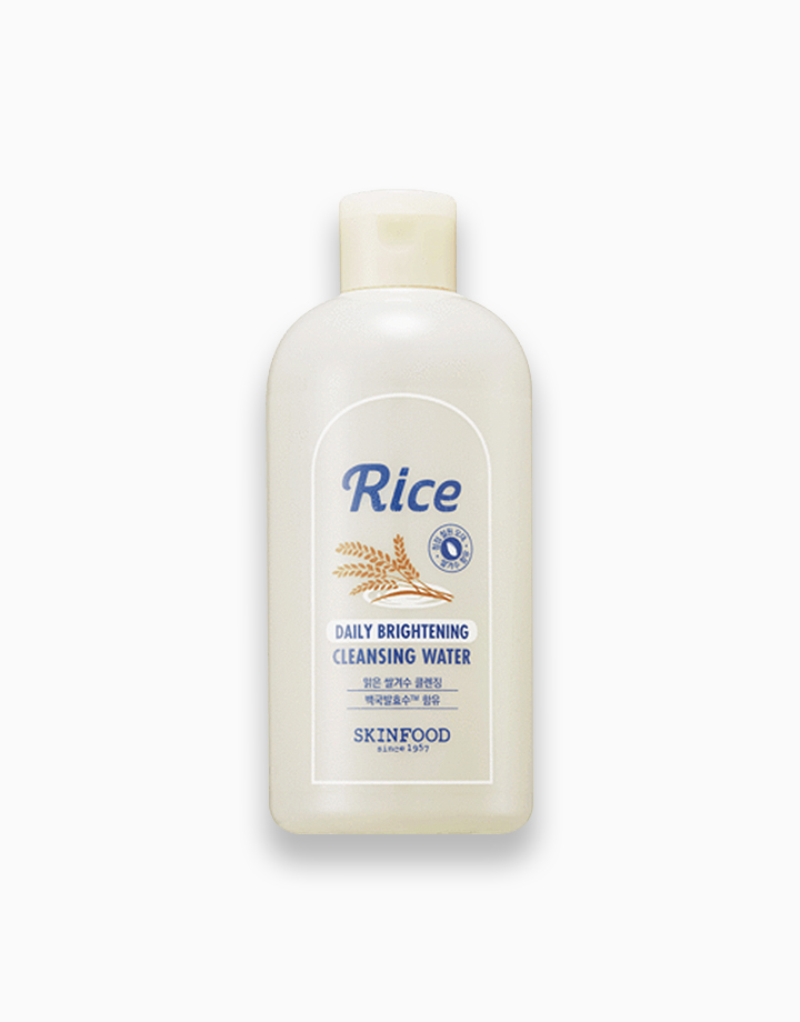 Rice Brightening Cleansing Water by Skinfood