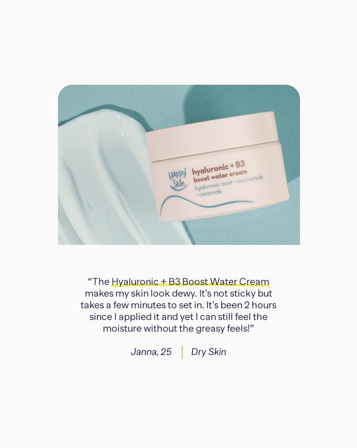 8 water cream claims testimonials