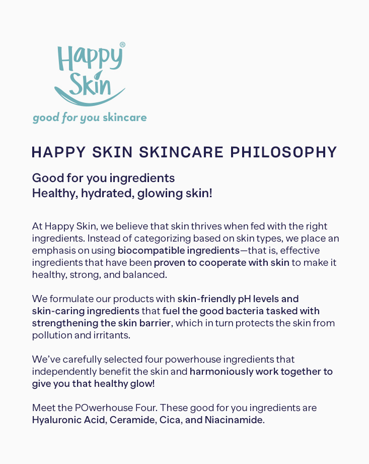 Happy skin sets 1 hs philosophy