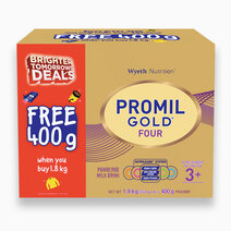Wyeth promil gold four 1800g with free promil gold four 400g updated 1