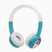 Bamini study wired headphones blue