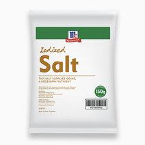 Mccormick iodized salt 150g