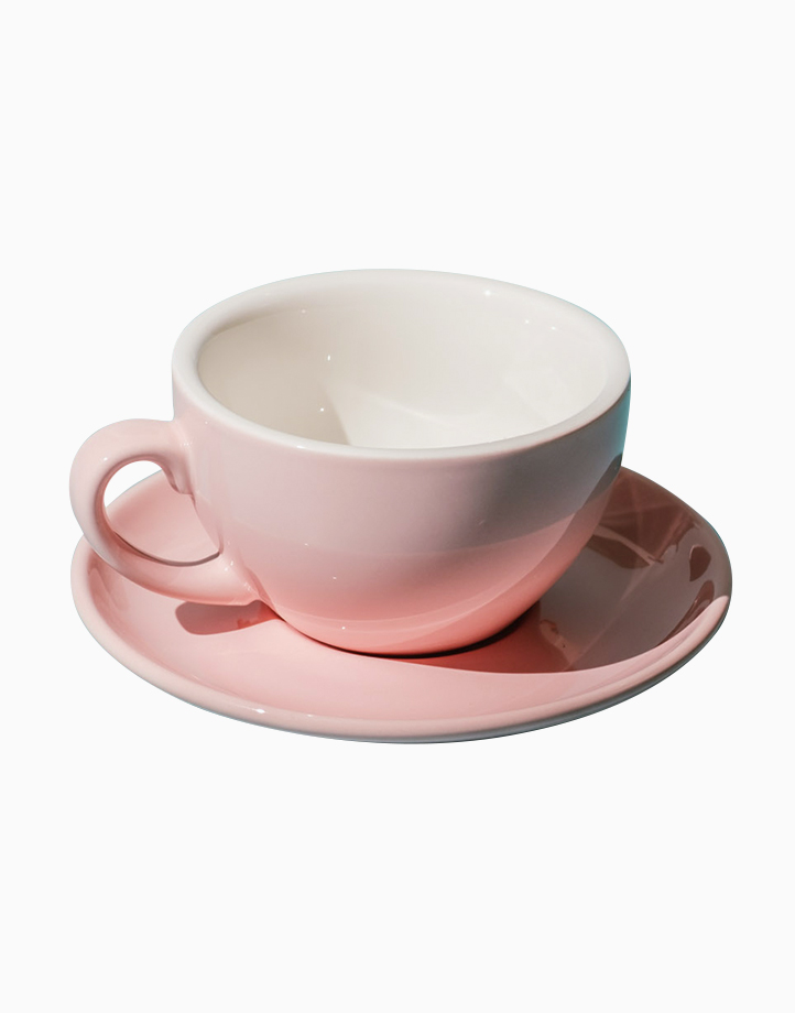 Egg Coffee/Tea Cup & Saucer 220ml by Orion. | Pink