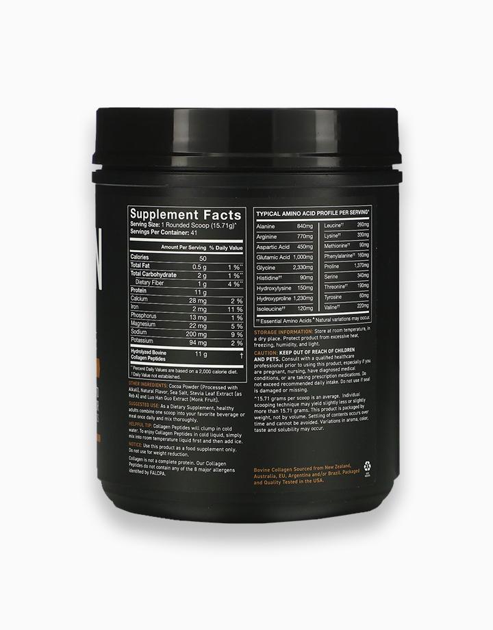 Collagen Peptides, Hydrolyzed Type I & III Collagen, Dark Chocolate, 22.72 oz. (644.11g) by Sports Research