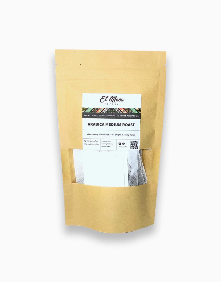 Arabica Medium Roast Coffee Drip Bag by El Mesa Coffee