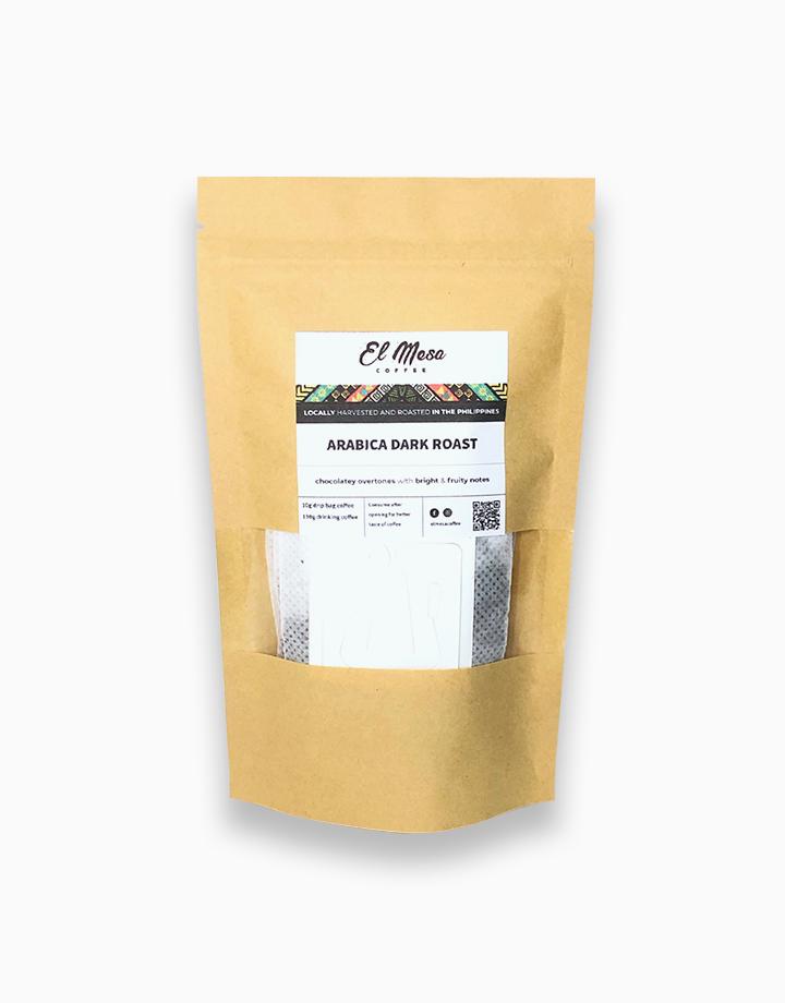 Arabica Dark Roast Coffee Drip Bag by El Mesa Coffee
