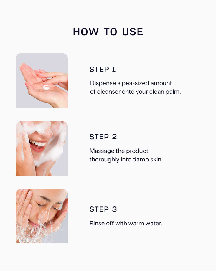 10233 pure skin egg cleansing foam how to