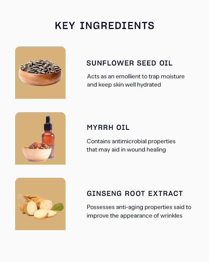 1 ginseng body massage oil