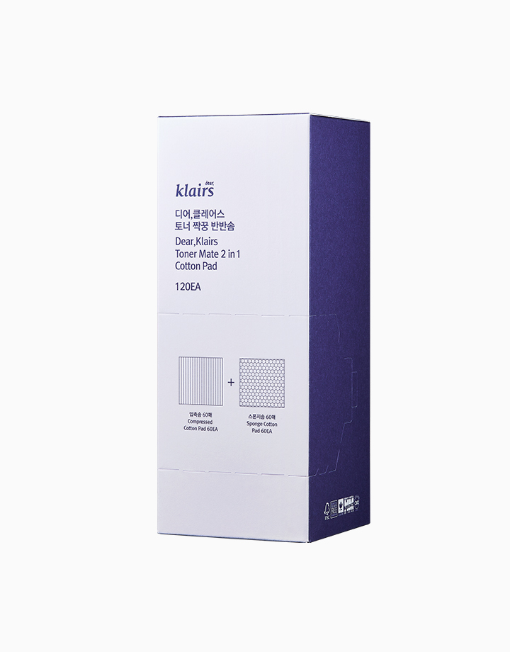 Toner Mate 2 in 1 Cotton Pad by Dear Klairs