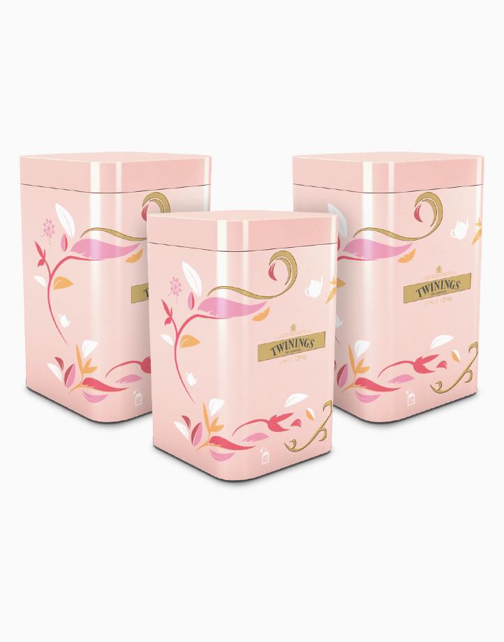Twinings Pink Tin Gift Set - Green Tea Lemon x 3 by Twinings