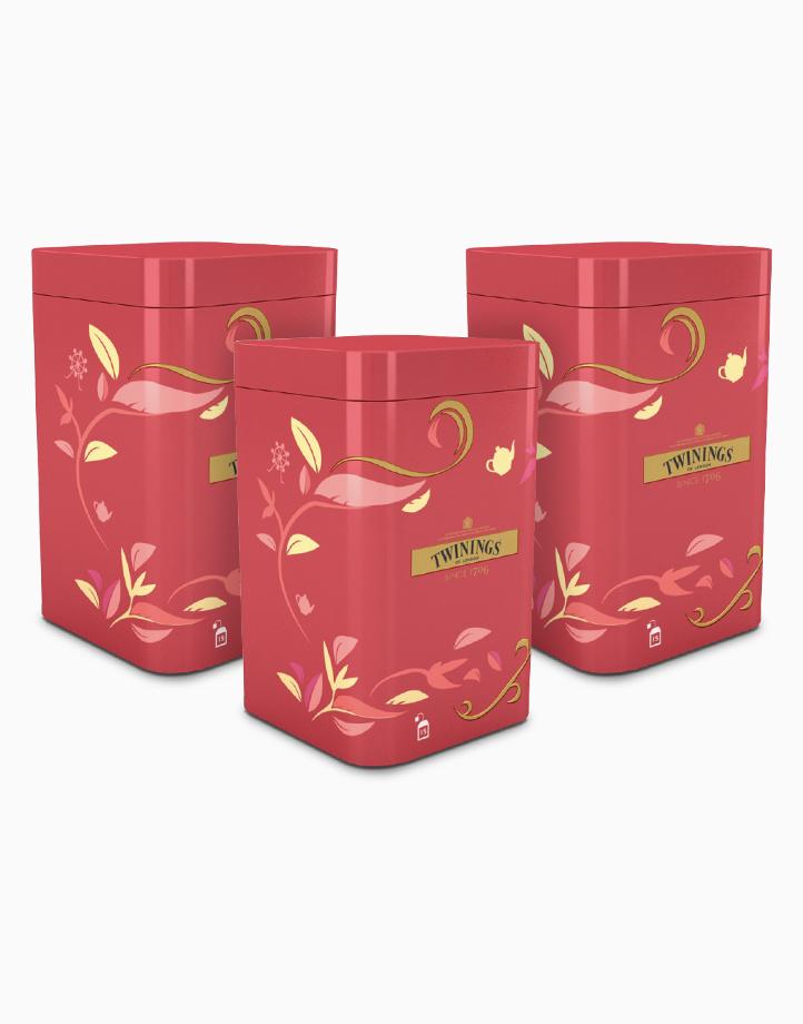 Twinings Red Tin Gift Set - English Breakfast x 3 by Twinings