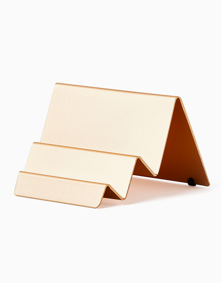 City Card Stand by Lexon | Gold
