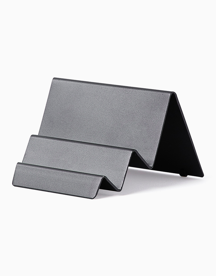 City Card Stand by Lexon | Gunmetal