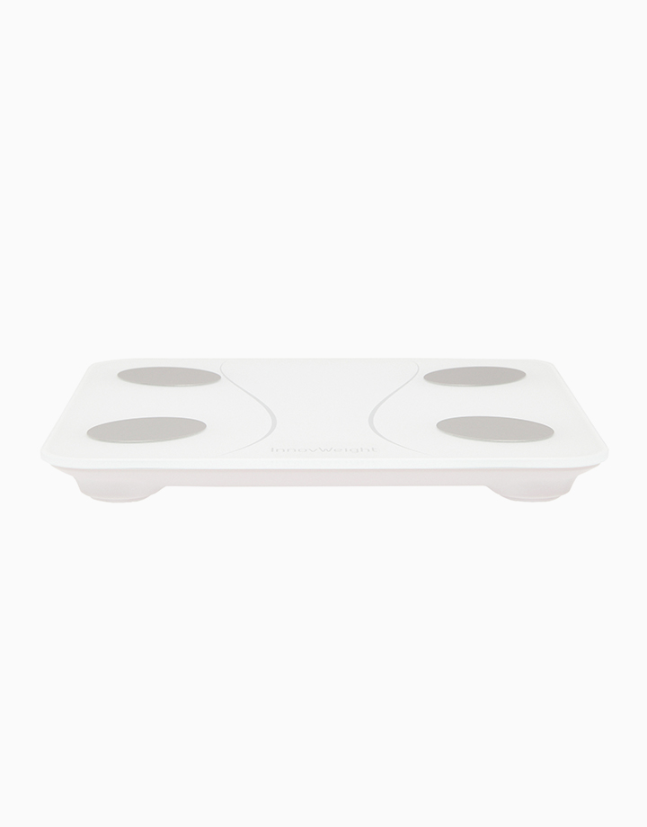 M Smart Digital Bluetooth Weighing Scale Body Fat Analyzer by InnovWeight | White