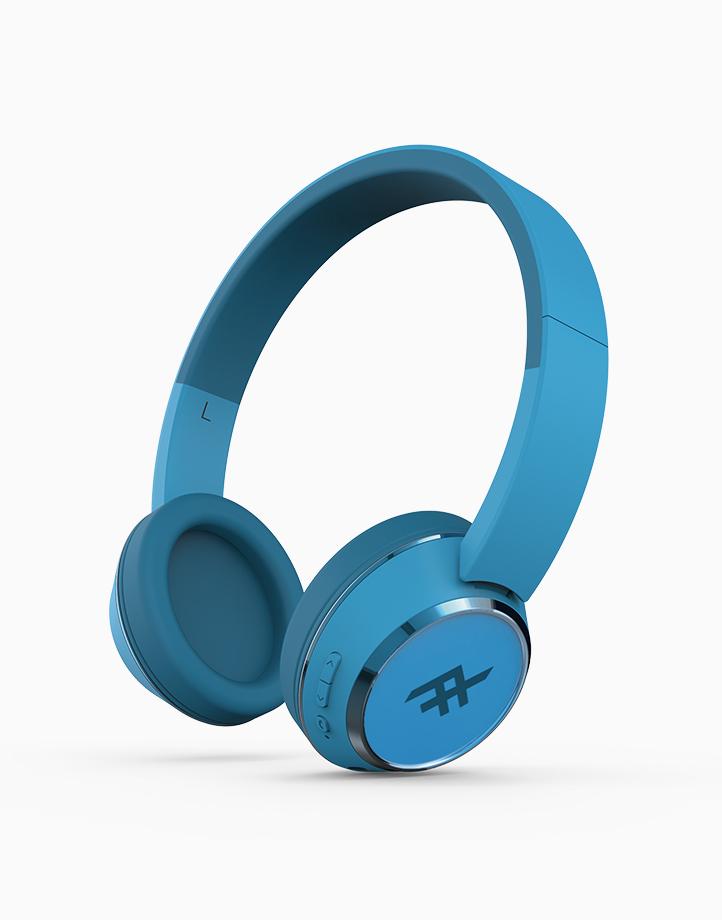 Coda Wireless Bluetooth Headphone With Mic by iFrogz | Blue