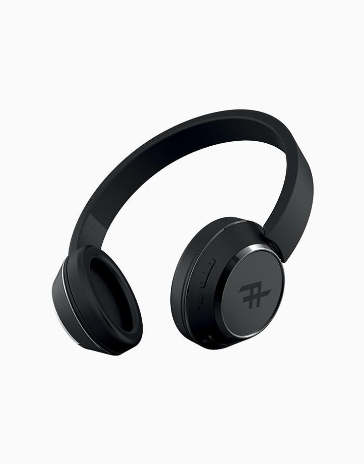 Coda Wireless Bluetooth Headphone With Mic by iFrogz | Black