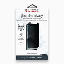 Invisible shield glass elite privacy  screen protector for iphone 12 mini 1