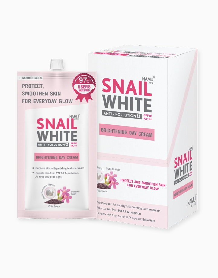 Brightening Day Cream SPF 30/PA+++ (7ml, Box of 6) by SNAILWHITE