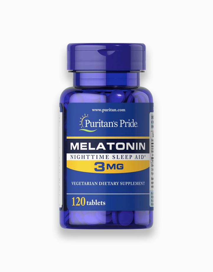 Melatonin 3mg (120 Tablets) by Puritan's Pride