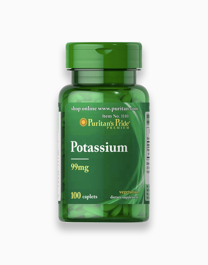 Potassium 99mg (100 Caplets) by Puritan's Pride