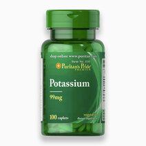 Potassium 99mg (100 Caplets) by Puritan's Pride