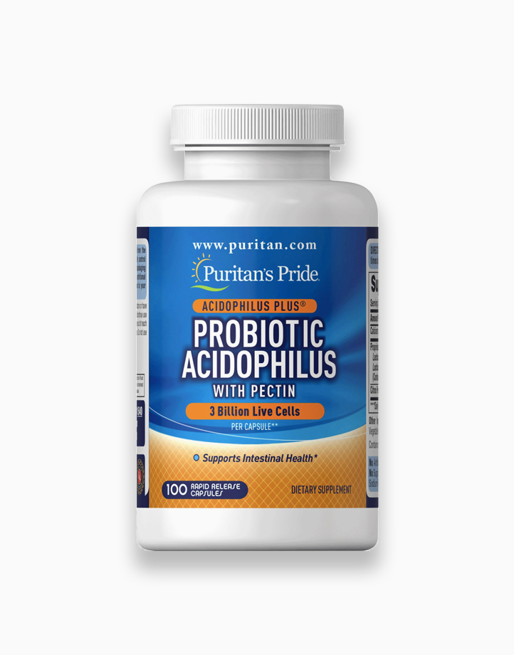 Probiotic Acidophilus with Pectin (100 Capsules) by Puritan's Pride