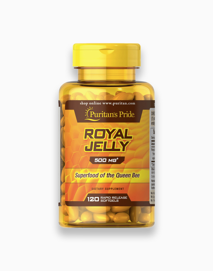 Royal Jelly 500mg (120 Softgels) by Puritan's Pride