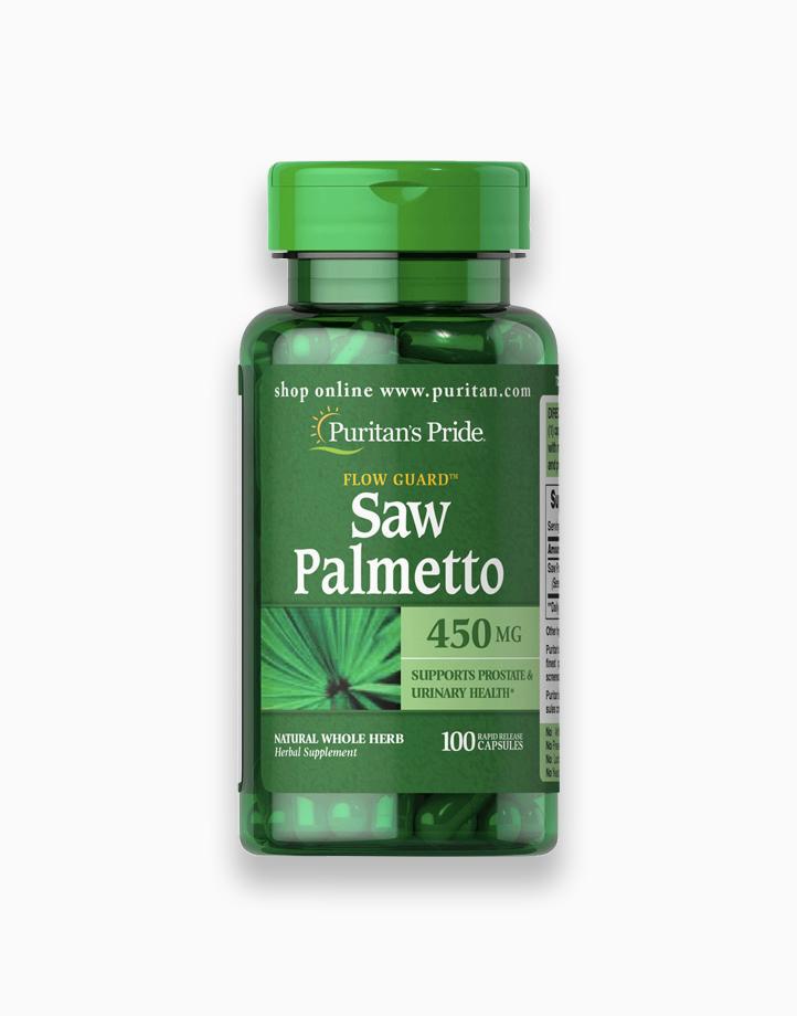 Saw Palmetto 450mg (100 Capsules) by Puritan's Pride
