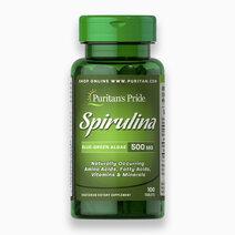 Spirulina 500mg (100 Tablets) by Puritan's Pride