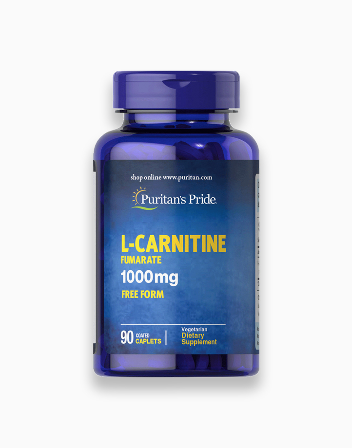 L-Carnitine Fumarate 1000mg (90 Caplets) by Puritan's Pride