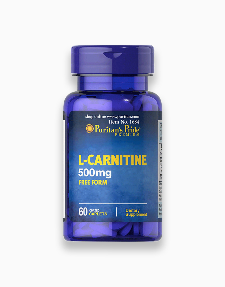 L-Carnitine 500mg (60 Caplets) by Puritan's Pride