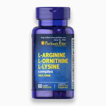 L-Arginine L-Ornithine L-Lysine (60 Caplets) by Puritan's Pride