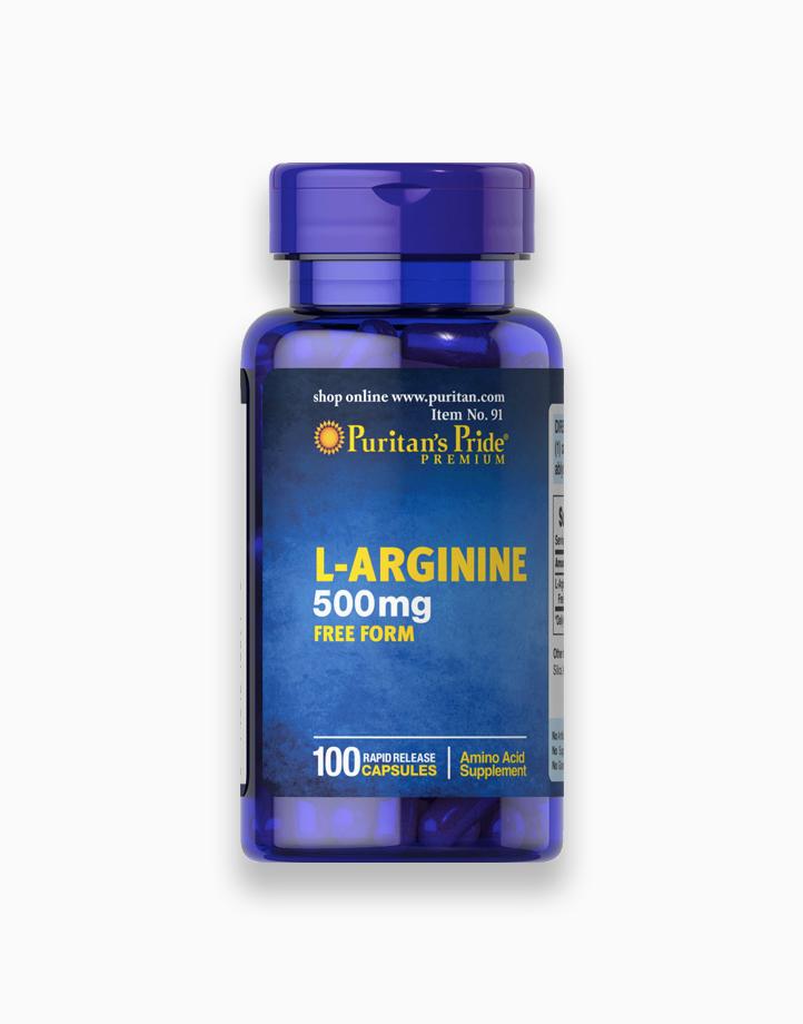 L-Arginine 500mg (100 Capsules) by Puritan's Pride