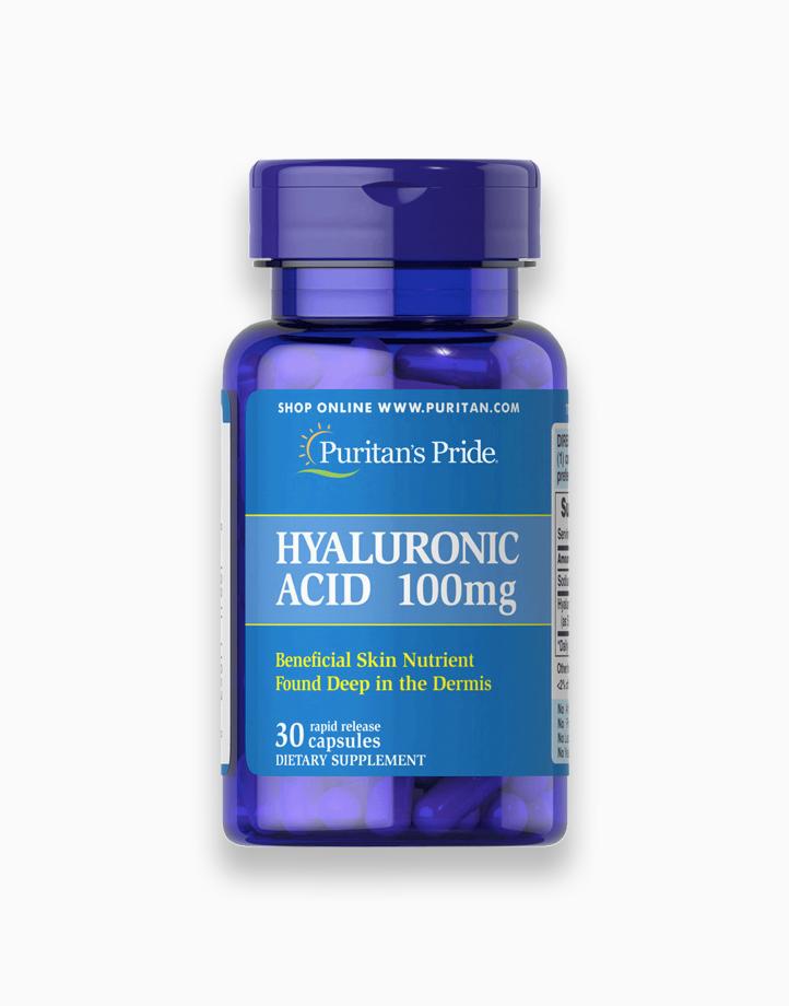 Hyaluronic Acid 100mg (30 Capsules) by Puritan's Pride