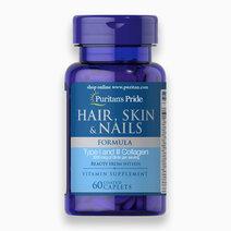 Hair Skin & Nails Formula (60 Caplets) by Puritan's Pride