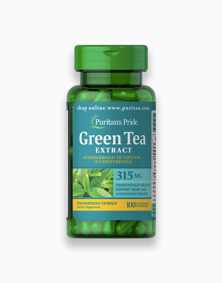 Green Tea Standardized Extract 315mg (100 Capsules) by Puritan's Pride