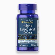 Alpha Lipoic Acid ALA 600mg (60 Capsules) by Puritan's Pride