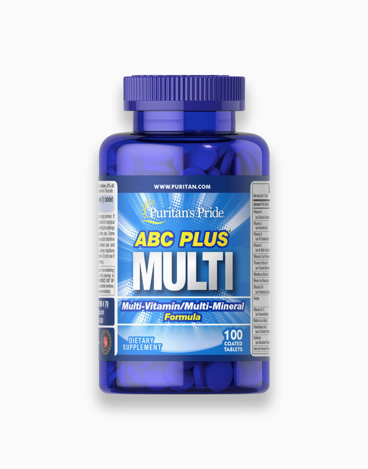 ABC Plus Multivitamin and Multi-Mineral Formula with Zinc (100 Caplets) by Puritan's Pride