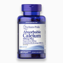 Re mv 76058 53580 absorbable calcium 600mg plus magnesium 300mg   vitamin d 1000iu 60 softgels