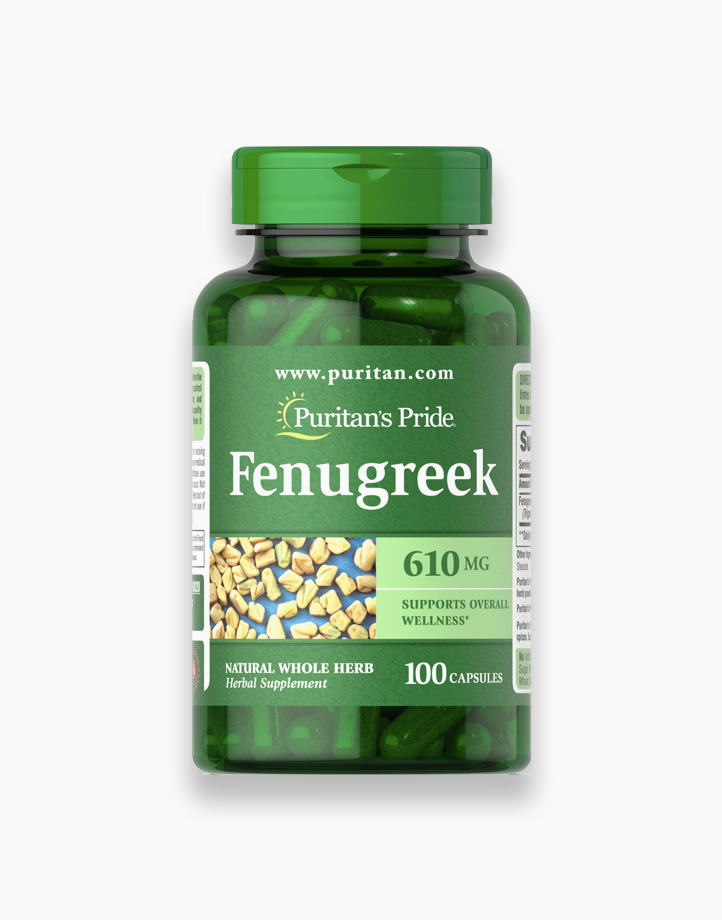 Fenugreek 610mg (100 Capsules) by Puritan's Pride